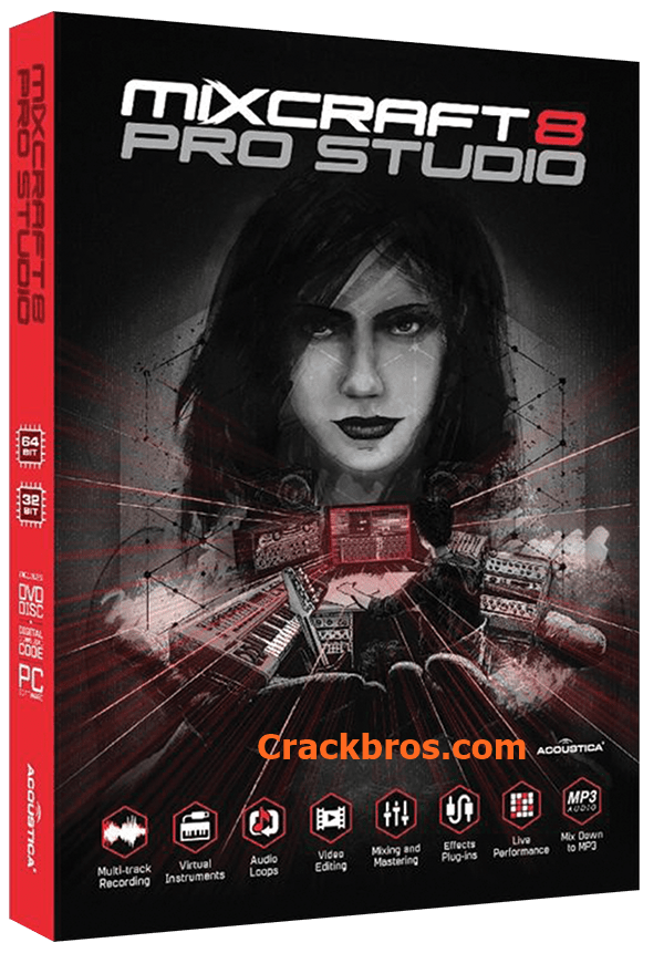 Mixcraft Pro Studio 9 Crack incl Activation Key Full Download