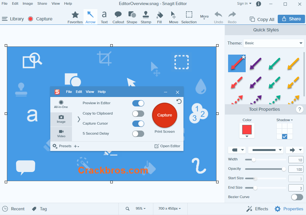Snagit 20.1.3 Crack Full Version With Keygen Free Download