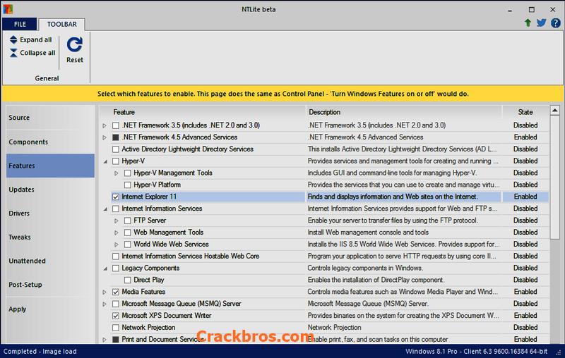 NTLite 2.0.0.7580 Crack incl License Key 2020 Free Download