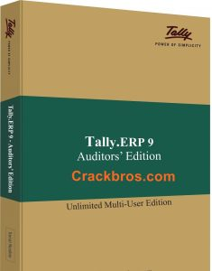 Tally ERP 9 6.6.3 Crack Full Version With Serial Key Download