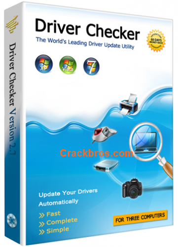 Driver Checker 2.7.5 Crack + Serial Key Free (Latest) 2020