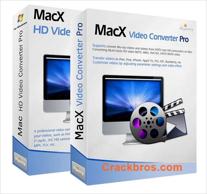 MacX Video Converter Pro 6.4.5 Crack + License Key Download