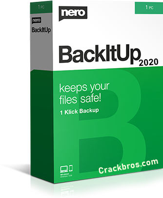 Nero BackItUp 2020 Crack + License Key Free Download
