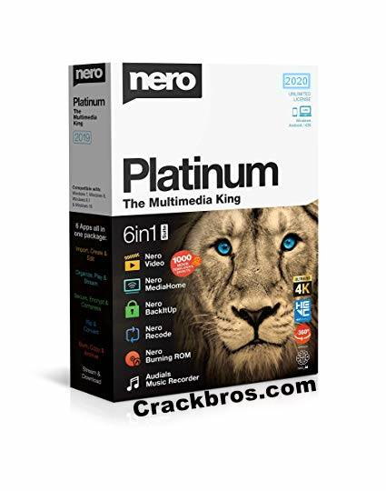 Nero Platinum 2020 Crack Plus License Key Download Free